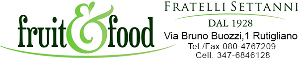 banner settanni fruit-food